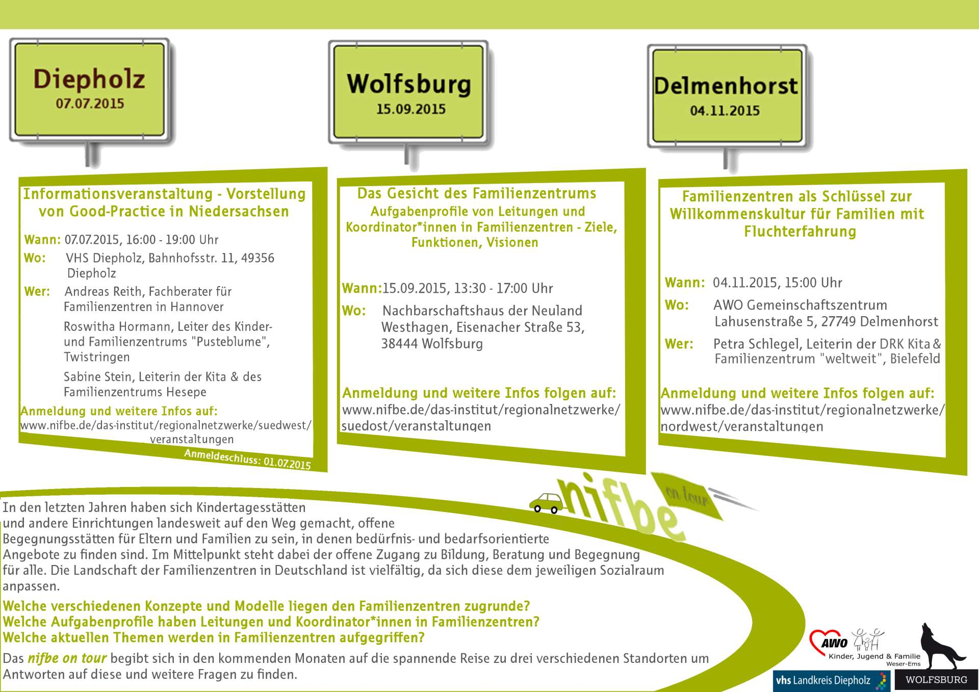 Flyer AG Familie - nifbe on tour