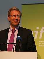 Ministerpräsident Christian Wulff