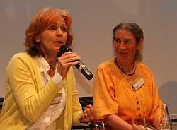 Sigrid Klausmann und Lisette